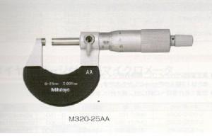 Micrometter đo ngoài cơ khí M320-25AA ( Mitutoyo)